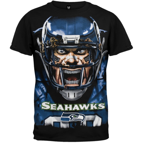 Seattle Seahawks - Rage Adult T-Shirt