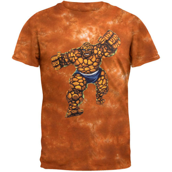 Fantastic Four - Thing Charge Tie Dye T-Shirt