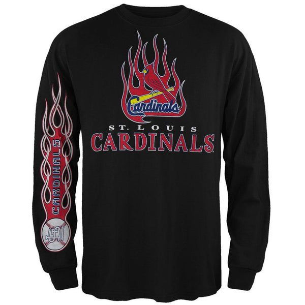 St Louis Cardinals - Heaters Long Sleeve T-Shirt