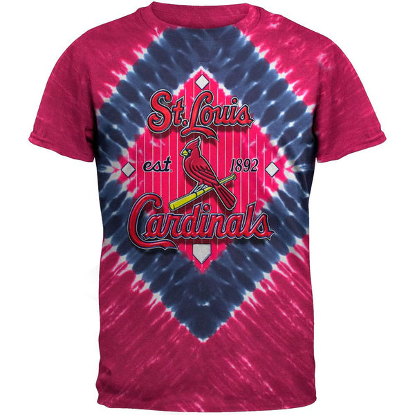 St Louis Cardinals - In Field Tie Dye T-Shirt