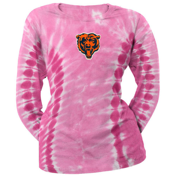 Chicago Bears - Logo Juniors Tie Dye Long Sleeve T-Shirt