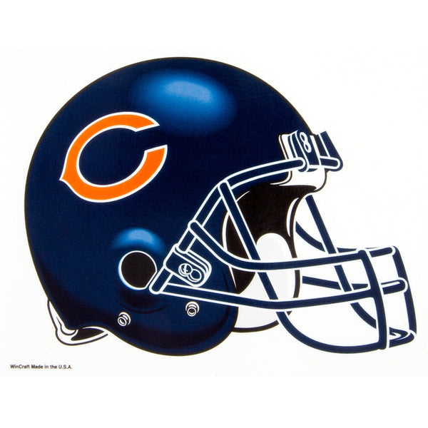 Chicago Bears - Helmet Blue Decal