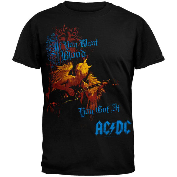 AC/DC - Want Blood All-Over T-Shirt