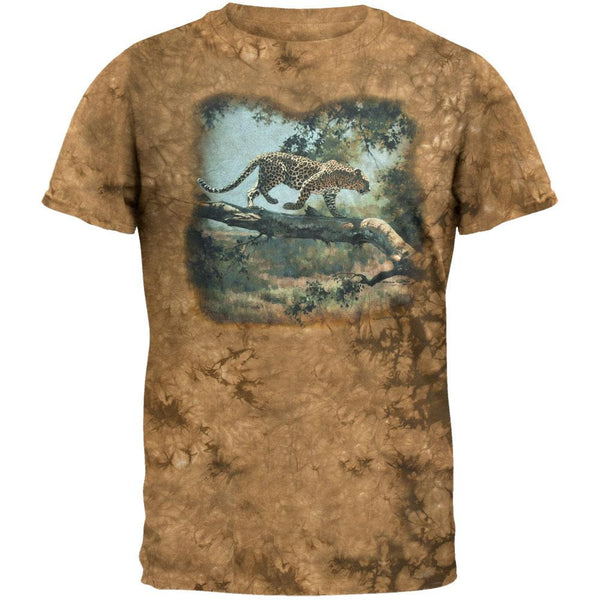 Leopard On Tree T-Shirt