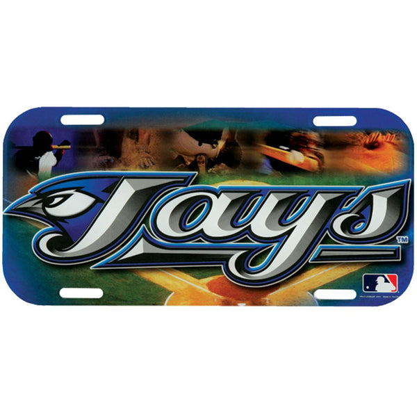Toronto Blue Jays - Field High Def Acrylic License Plate