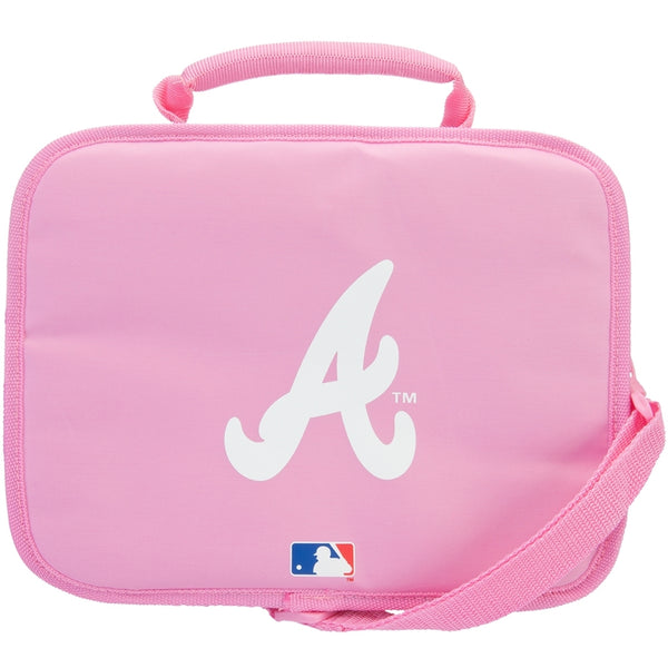 Atlanta Braves - Logo Pink Soft Lunch Box