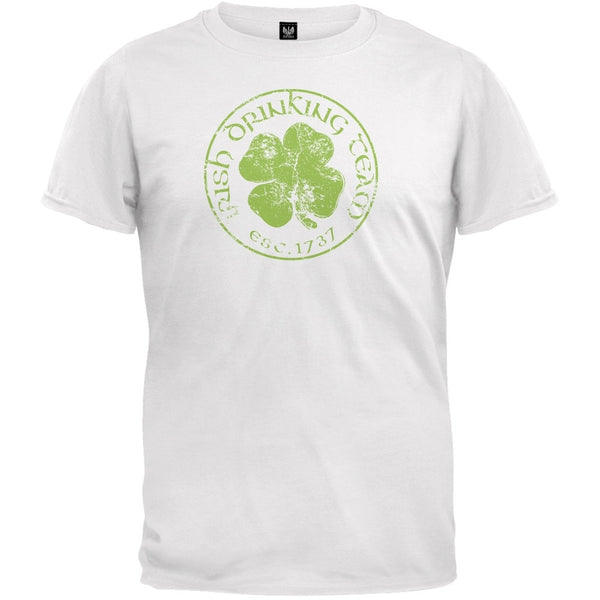 Irish Drinking Team White T-Shirt