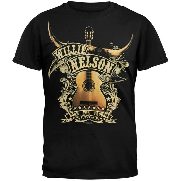 Willie Nelson - Guitar T-Shirt