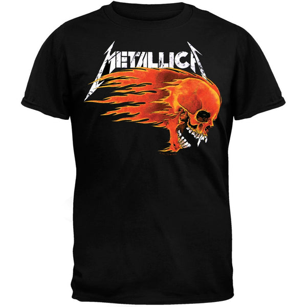Metallica - Flaming Skull T-Shirt