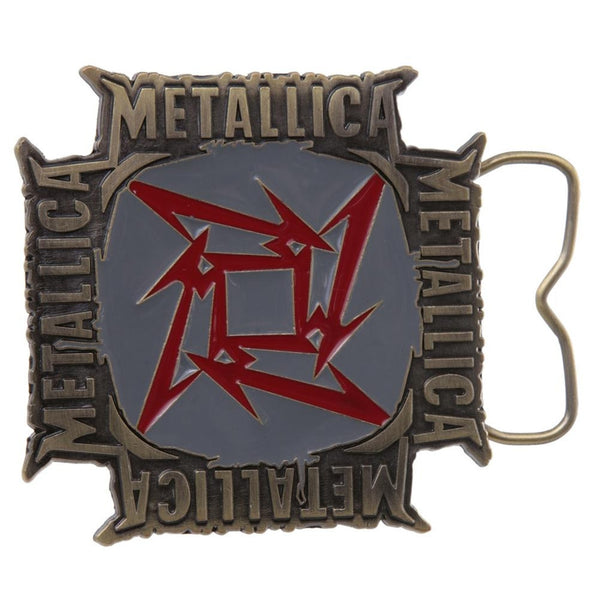 Metallica - Square Star Belt Buckle