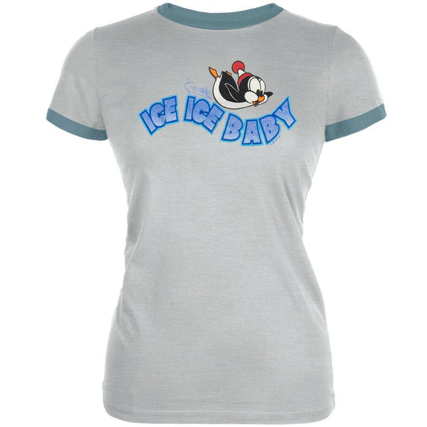 Ice Ice Baby - Chilly Willy- Juniors T-Shirt