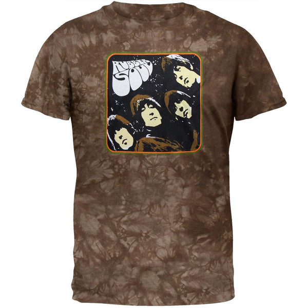 Beatles - Rubber Soul Cover Tie Dye T-Shirt