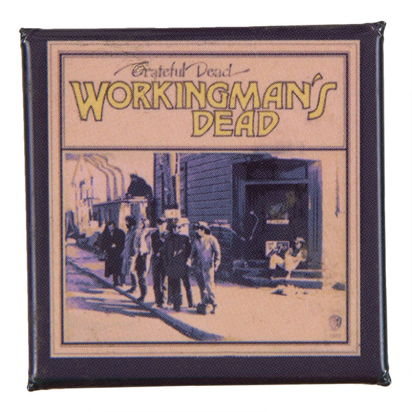 Grateful Dead - Workingman's Dead Square Button