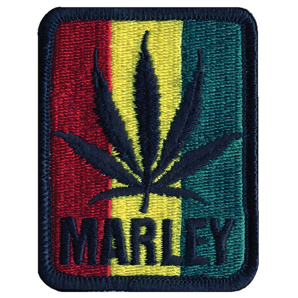 Bob Marley - Leaf Tri Color Patch