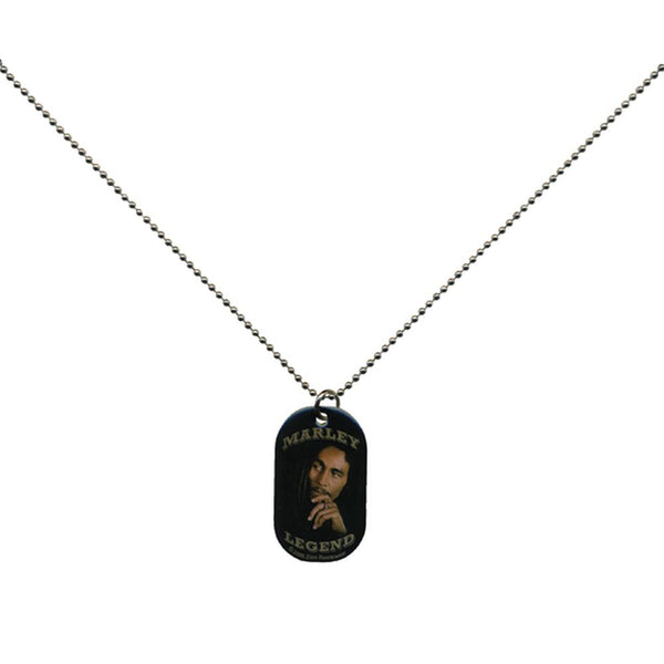 Bob Marley - Legend Dog Tag Necklace