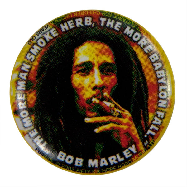 Bob Marley - Herb Button
