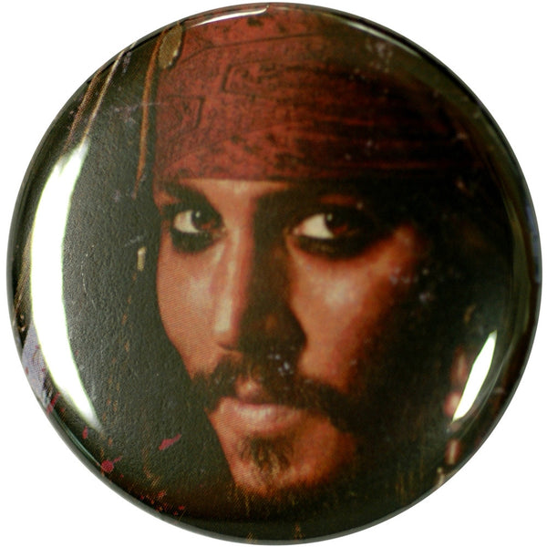 Pirates Of The Caribbean - Jack Face Button