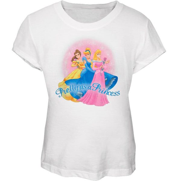 Disney Princesses - Pretty As Girls Youth T-Shirt