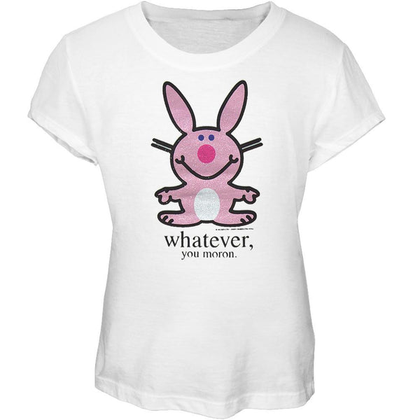 Happy Bunny - Moron Girls Youth T-Shirt