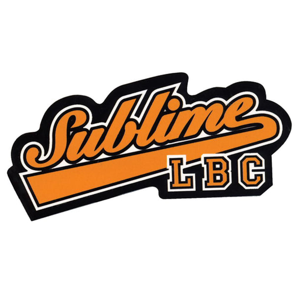 Sublime - New Baseball Logo Decal
