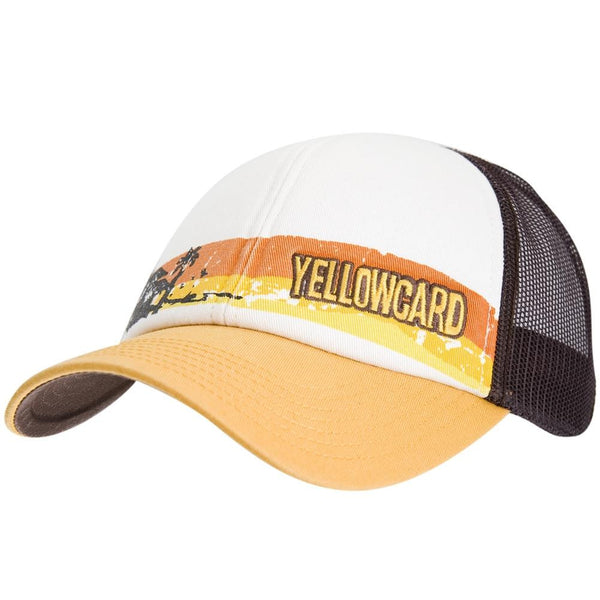 Yellowcard - Sunset Logo Adjustable Baseball Cap