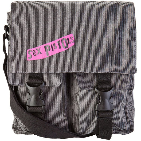 Sex Pistols - Patch Logo Corduroy Handbag