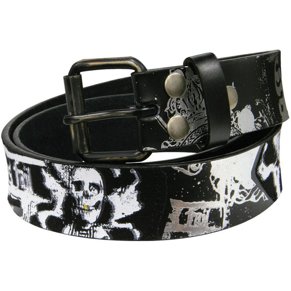 Senses Fail - Skeletons Leather Belt