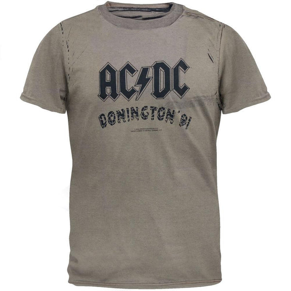 AC/DC - Donington 91 Stone Washed T-Shirt