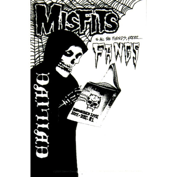 Misfits - Fangs Decal