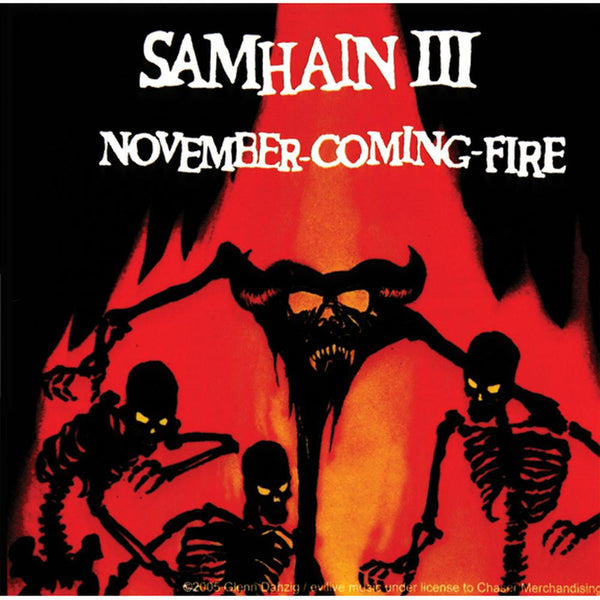 Samhain - November Comin Fire Decal