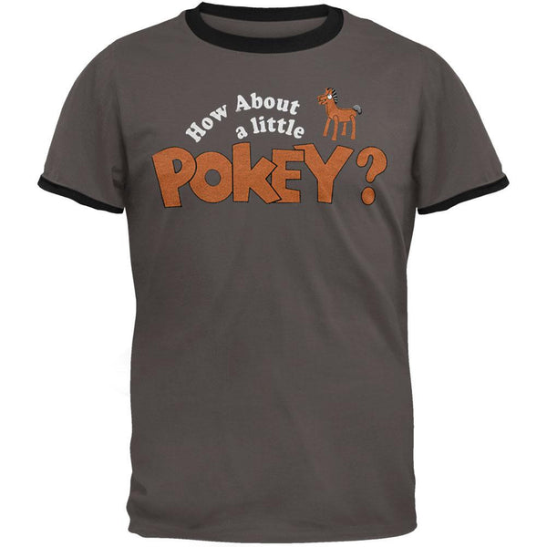 Gumby - How About A Little Pokey Ringer T-Shirt