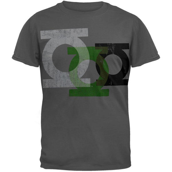 Green Lantern - Logo Repeat Four Soft T-Shirt
