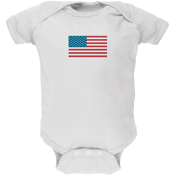 American Flag Baby One Piece