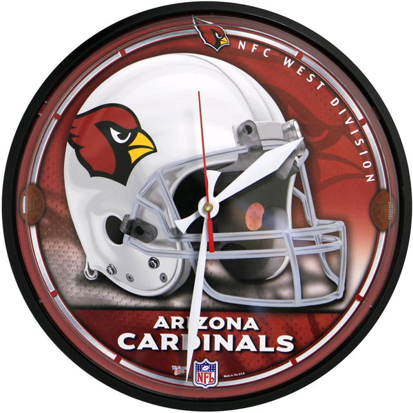 Arizona Cardinals - Helmet Clock