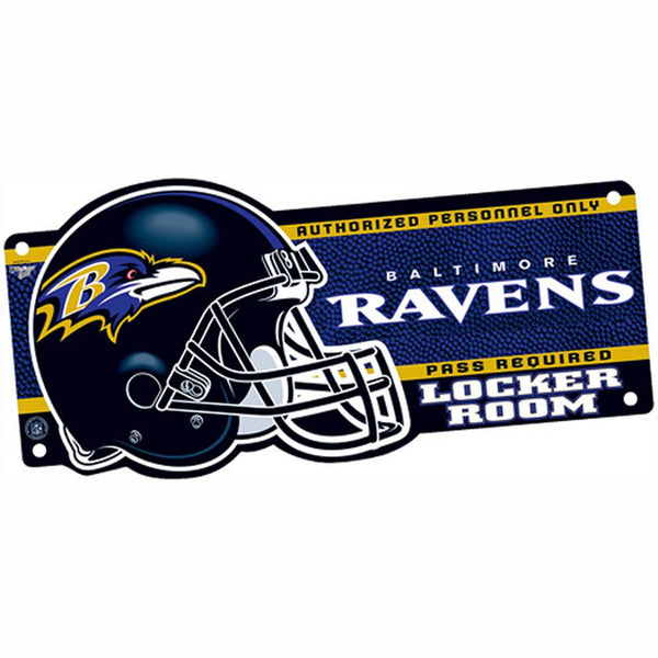 Baltimore Ravens - Locker Room Sign