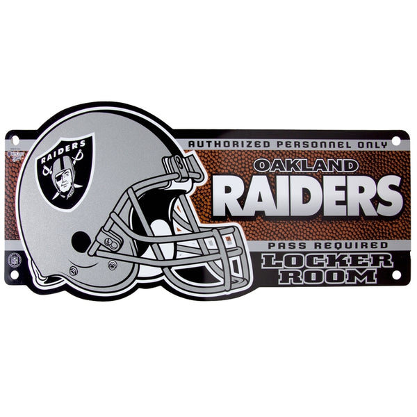 Oakland Raiders - Locker Room Sign