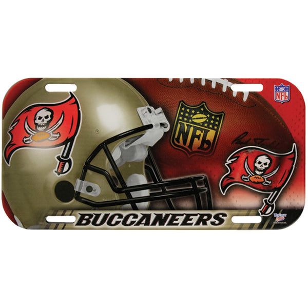 Tampa Bay Buccaneers - Collage High Def License Plate