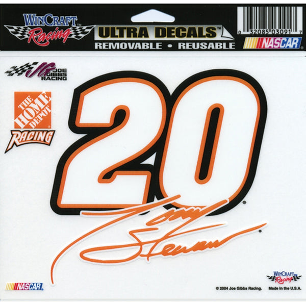 Tony Stewart - 20 Signature Decal