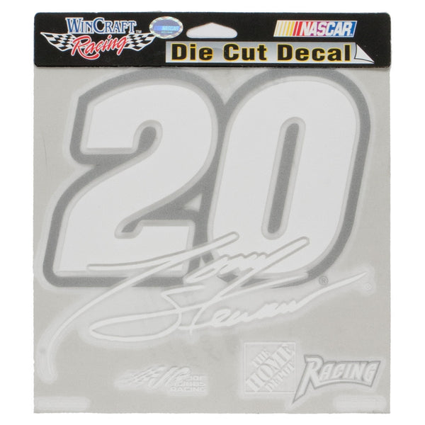 Tony Stewart - 20 Signature Retro Cut Out Decal