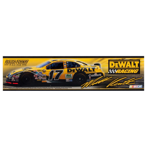 Matt Kenseth - Collage Retro Bumper Sticker