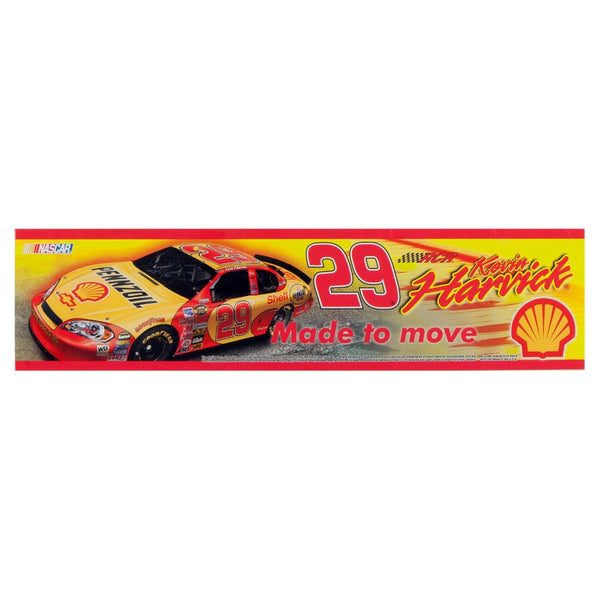 Kevin Harvick - Collage Retro Bumper Sticker