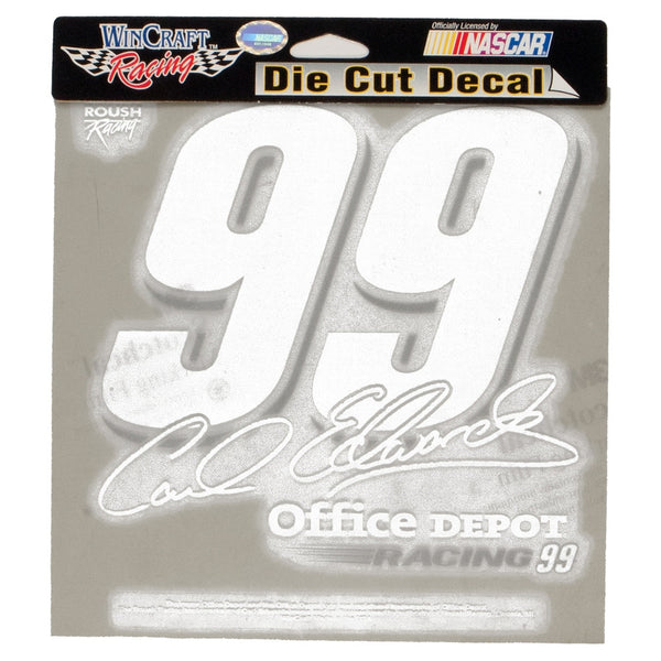 Carl Edwards - 99 Signature Retro Cutout Decal