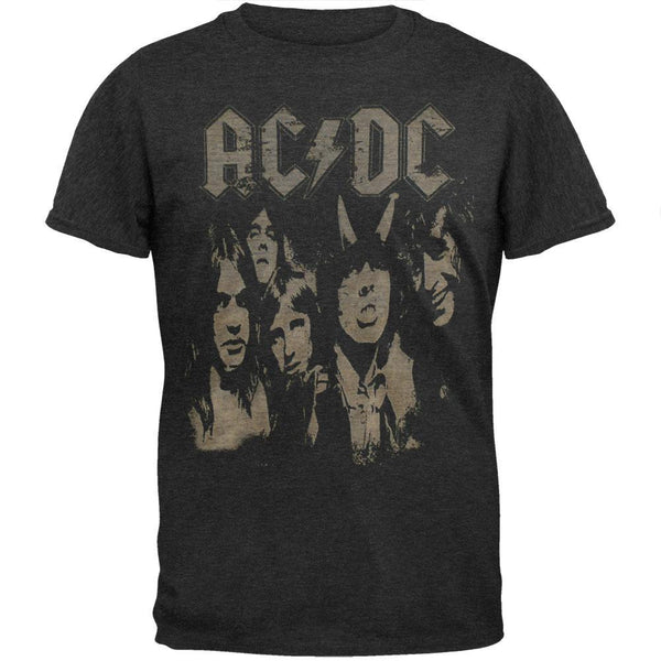 AC/DC - Highway Photo Negative Soft T-Shirt