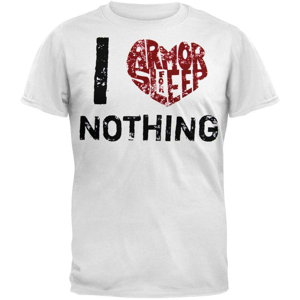 Armor For Sleep - I Love Nothing T-Shirt