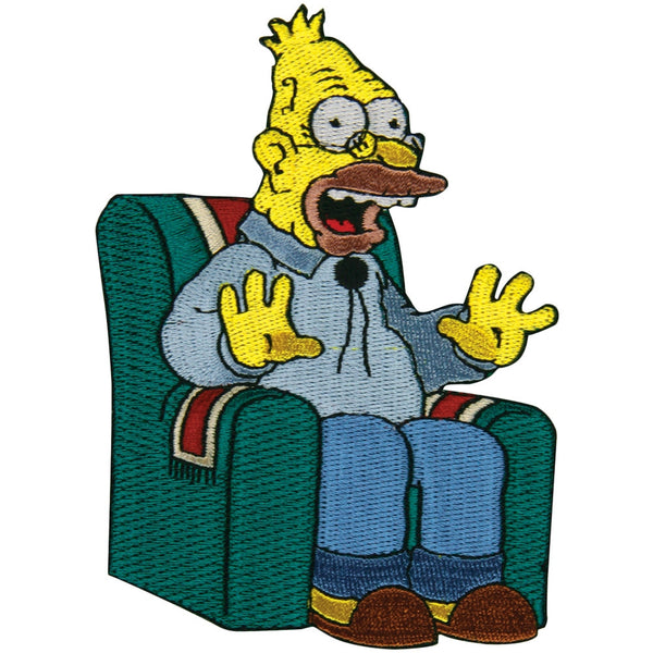 Simpsons - Grandpa Chair Patch