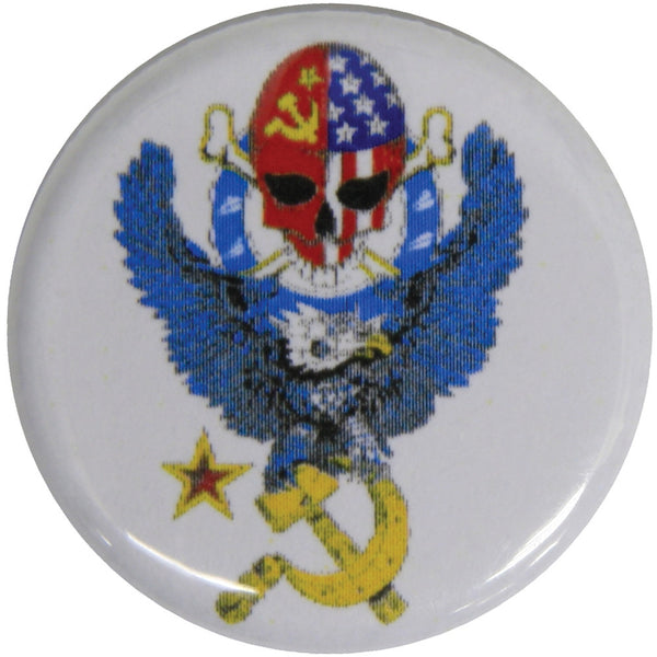 Moscow Music Festival - Skull Eagle Button