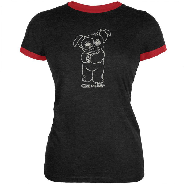 Gremlins - Be Mine Juniors Ringer T-Shirt