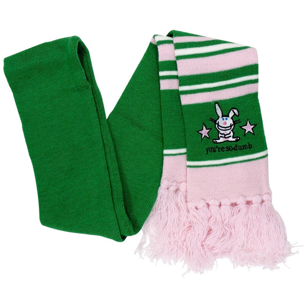 Happy Bunny - You're So Dumb Scarf
