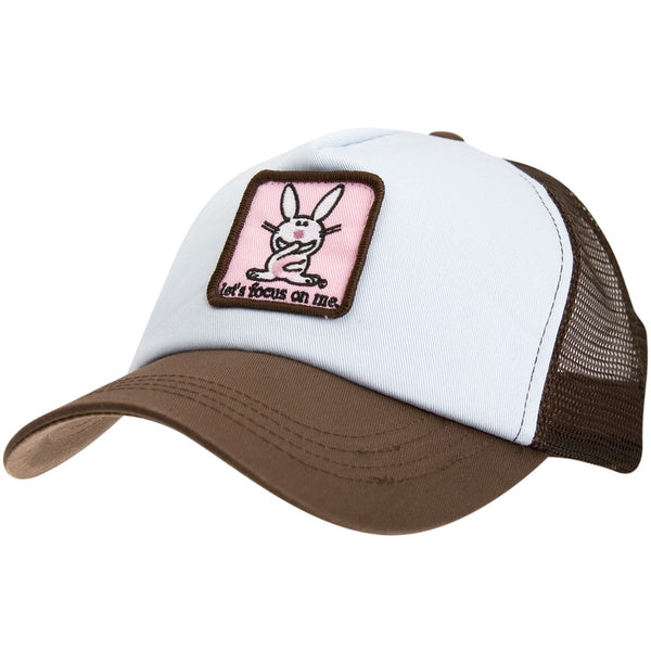 Happy Bunny - Lets Focus Trucker Cap