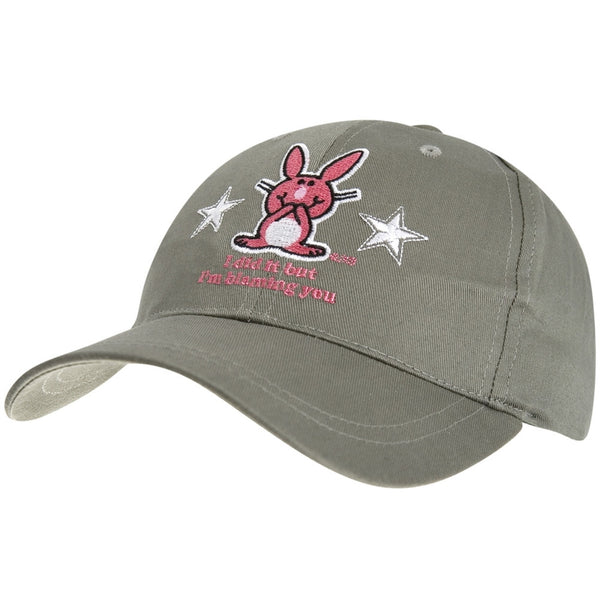 Happy Bunny - Blaming You Baseball Cap